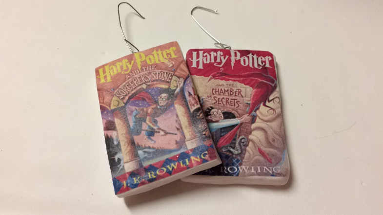 harry potter ornaments books printable pinterest christmas diy