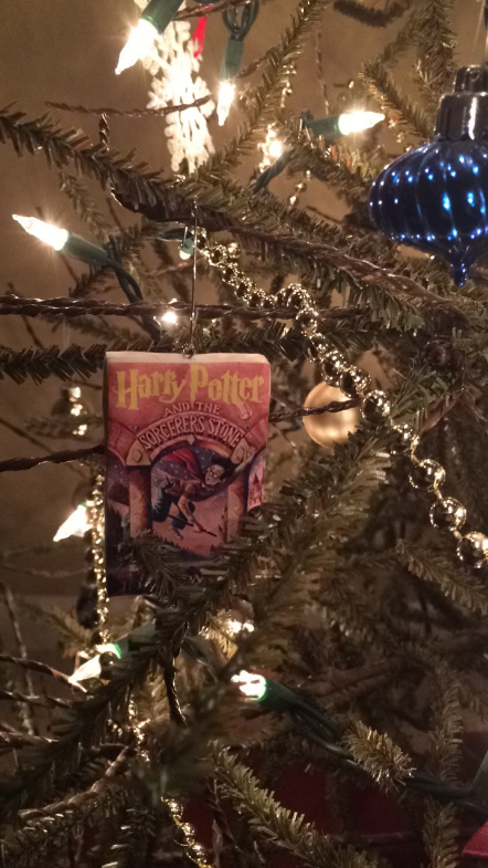 harry potter ornaments books printable pinterest christmas diy tree