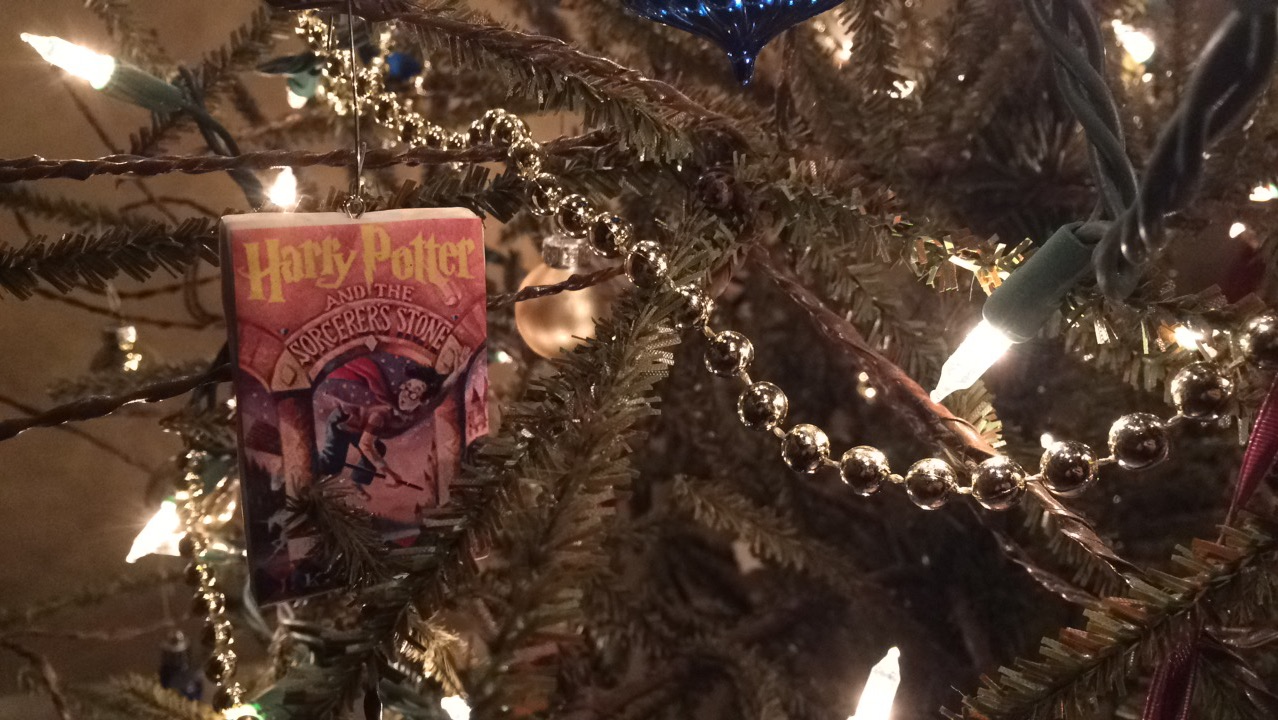 Diy Harry Potter Book Christmas Ornaments With Free Printable