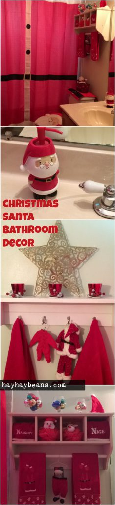 Thank You For Visiting And Looking At My Santa Themed Bathroom!