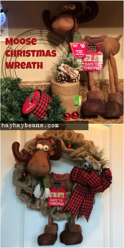 pinterest moose diy christmas craft