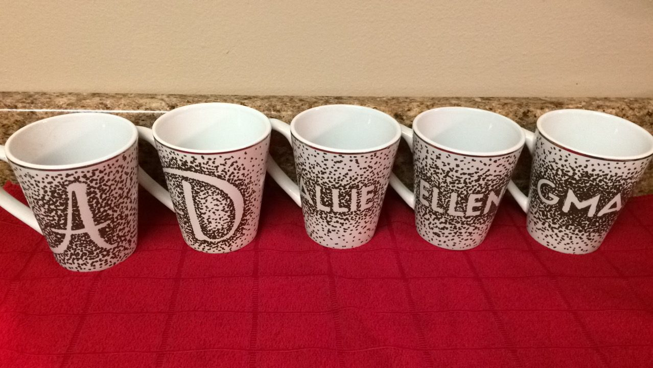 DIY - Gold Sharpie Mugs With Goodies To Go Inside